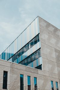 Commercial Building are prone to more dust and grime buildup.