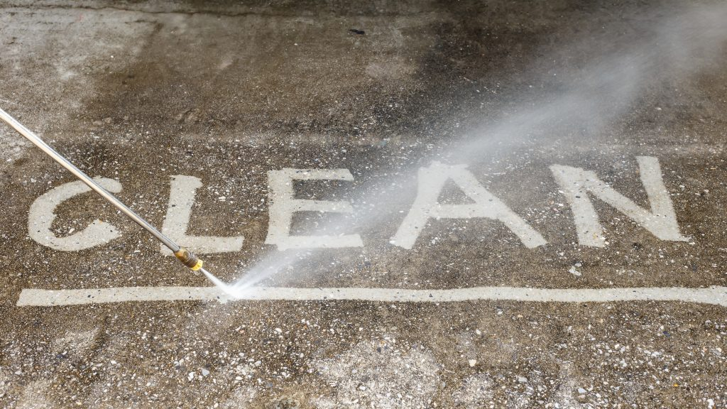 A professional pressure washer can ensure your property gets a thorough cleaning!